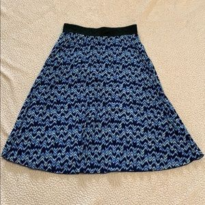 Women's accordion skirt